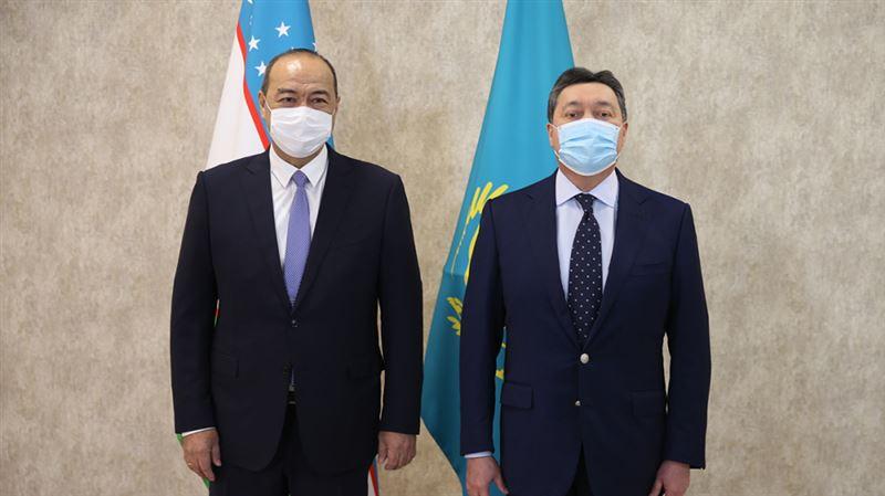 Қазақстан мен Өзбекстан Премьер-министрлері келіссөз өткізді