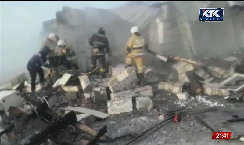 Пострадавшие при взрыве газового баллона в Актобе идут на поправку