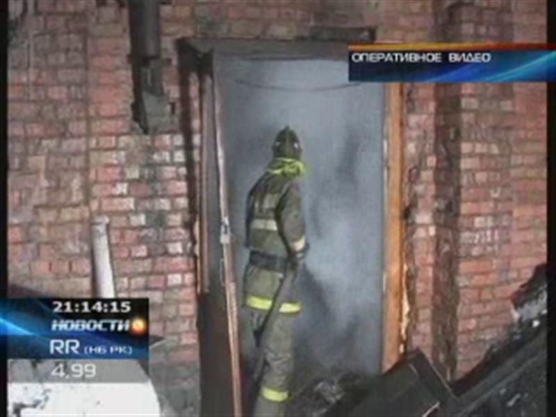 За минувшие выходные в Астане произошло три пожара: 1 человек погиб