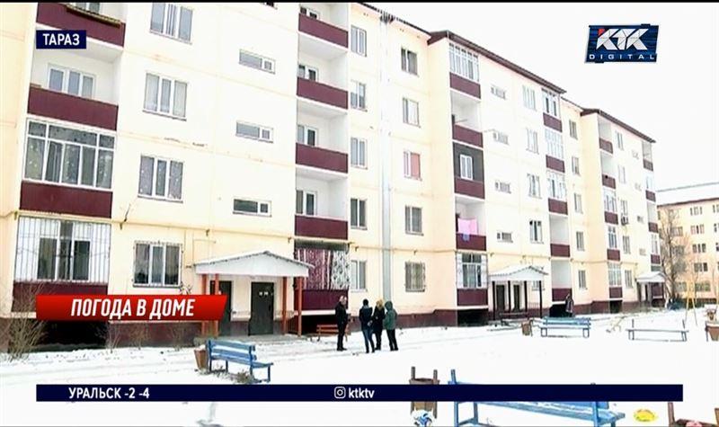 В многоэтажных домах Тараза не прогреваются квартиры