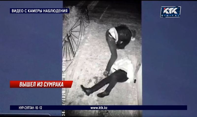 В Таразе неизвестный зверски избил подвыпившего мужчину