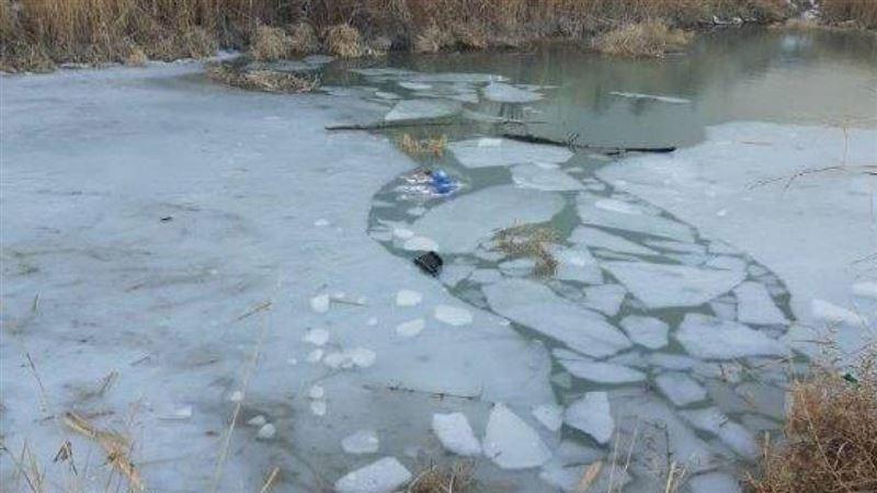 Дети погибли, провалившись под лед