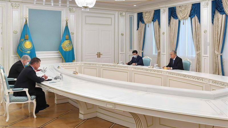 Представитель администрации Путина встретился с президентом Казахстана