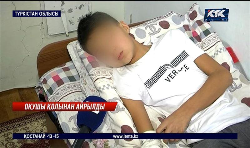 Қара жұмысқа жегілген 14 жасар бала қолынан айырылды – Түркістан облысы