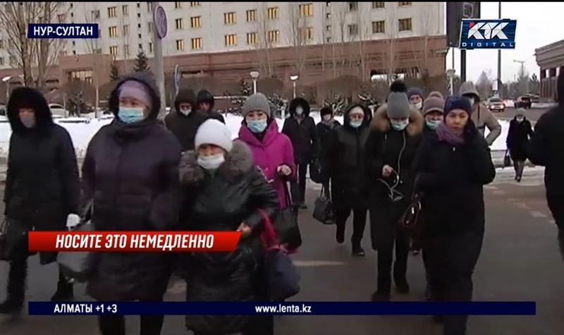 Обяжет ли Минздрав казахстанцев носить маски на улице и дома