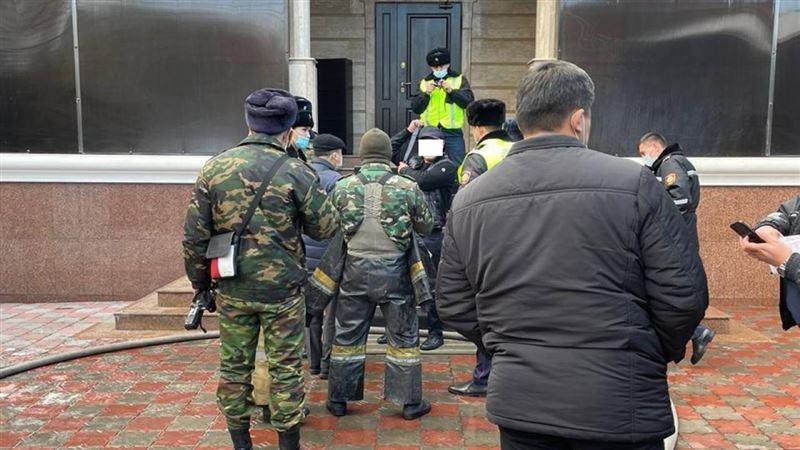 Полиция помешала алматинцу сжечь себя заживо