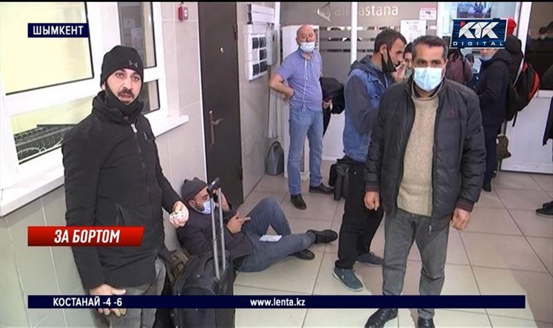 1500 пассажиров провели ночь в шымкентском аэропорту
