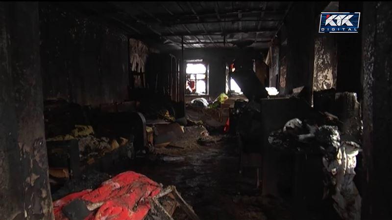 Дедушка и внук погибли при пожаре в Уральске
