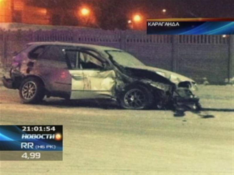 В Караганде полицейские скрывают видео, на котором чиновник на BMW устроил кровавое ДТП