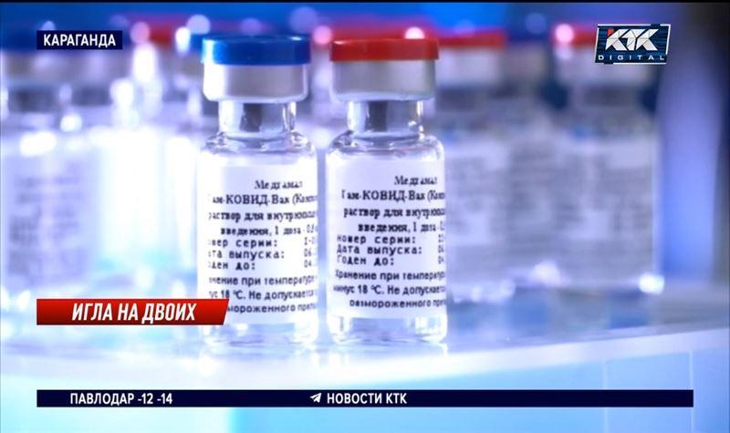Пробную партию изготовленной в Караганде российской вакцины отправили на проверку