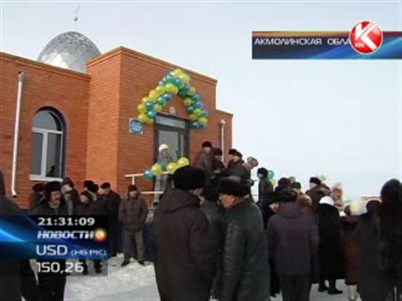 Жители Акмолинской области за свой счёт построили мечеть