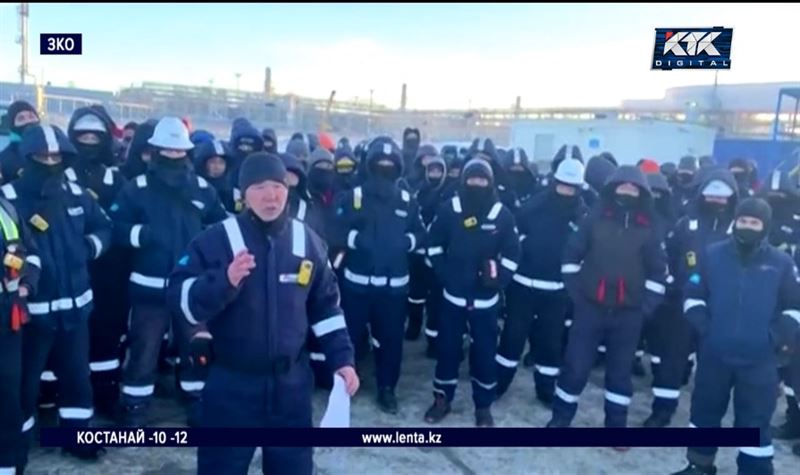 Во время забастовки несколько десятков нефтяников заразилось ковидом
