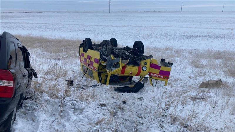 Пассажир скончался в ДТП с участием машины скорой помощи