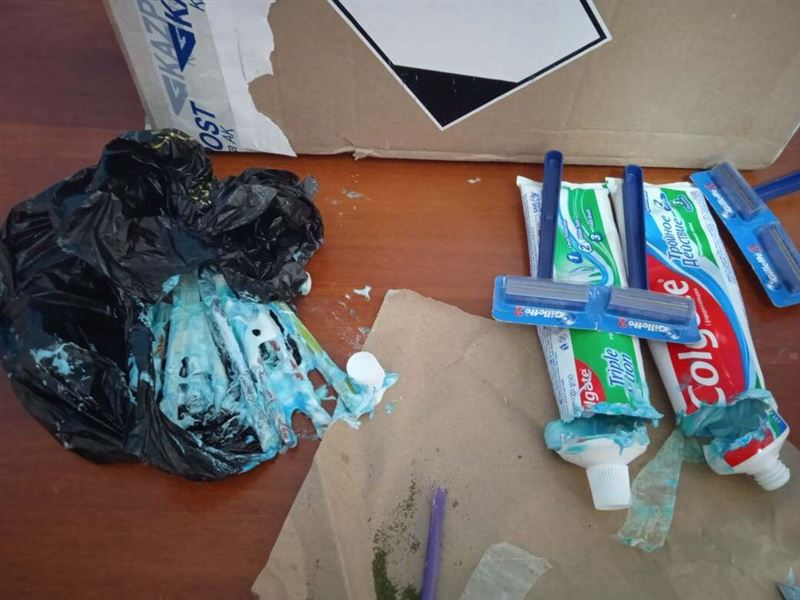 В колонии ВКО нашли марихуану в зубной пасте