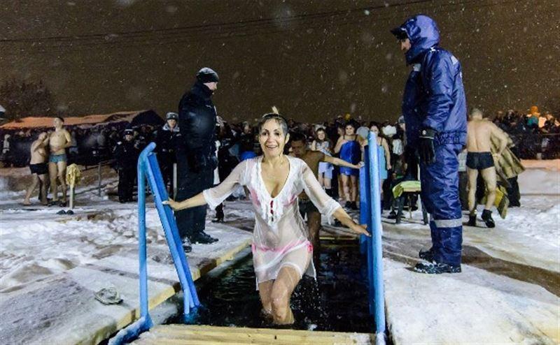 В столице запретили крещенские купания