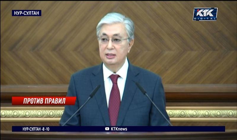 Президент предложил ввести графу «против всех» и выборность районных акимов