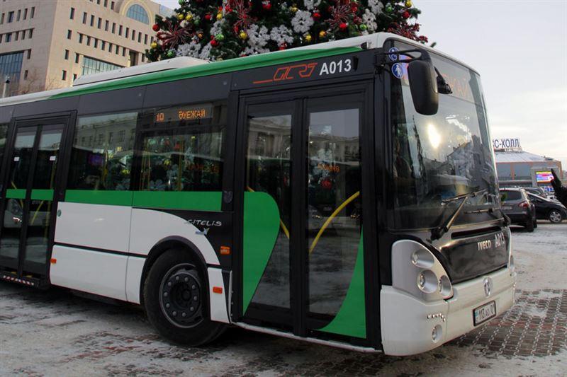 Автобусы не будут ездить в Нур-Султане в воскресенье, 17 января