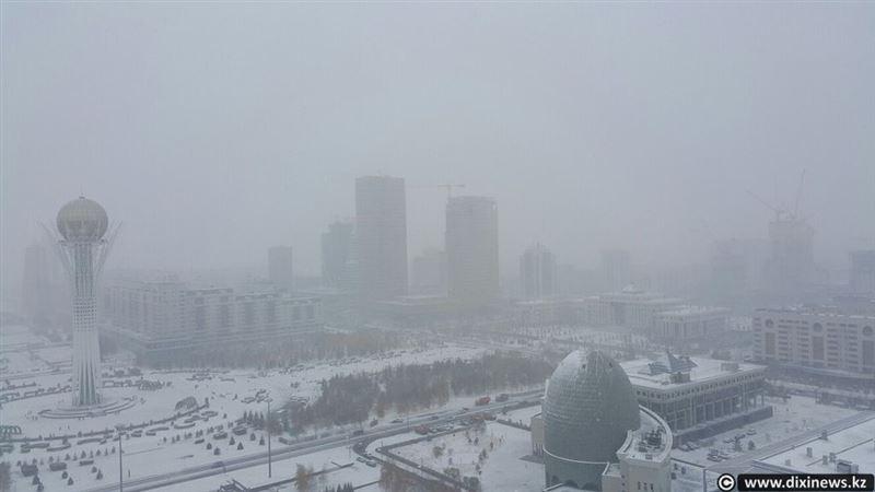 Жителей столицы предупредили о метели, которая ожидается в воскресенье
