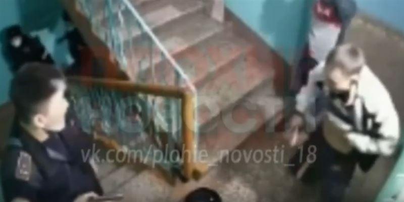 В Петропавловске задержали мужчину, напавшего на полицейских