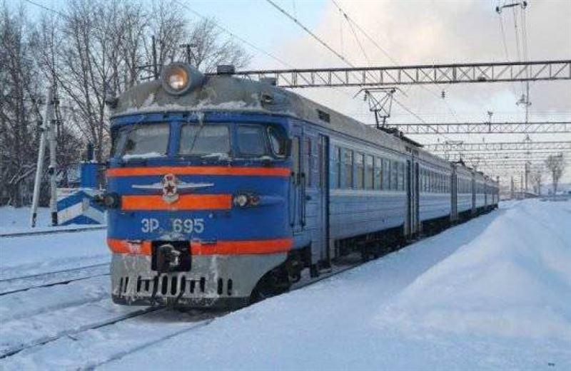 Локомотив насмерть сбил человека в Павлодаре