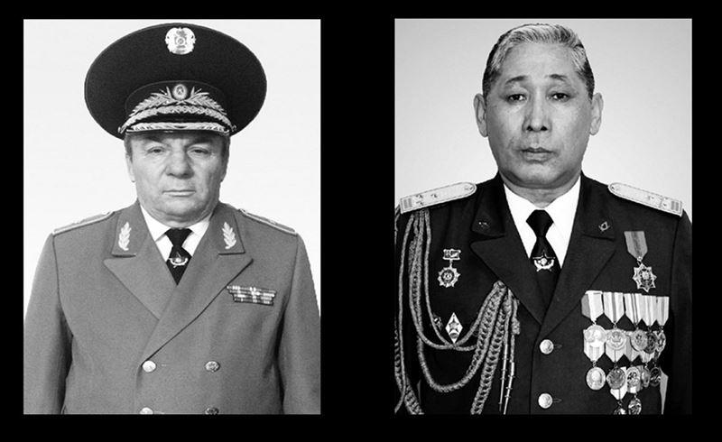 Отставкадағы генерал-майор мен әскери колледж басшысы бір күнде қайтыс болды