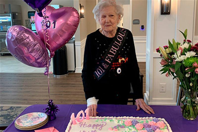 101-летняя пенсионерка раскрыла секрет своего долголетия