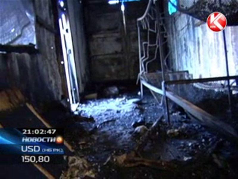 В Алматы в вагончике строителей взорвался газовый баллон: 6 человек погибли