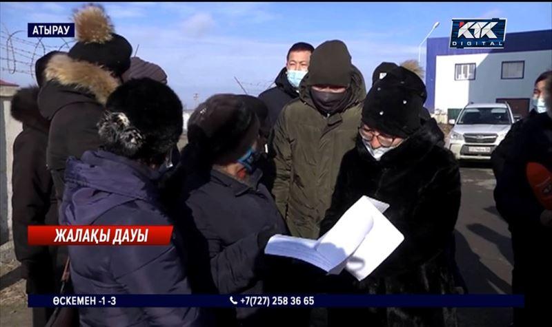Атырауда әскери бөлімнің жұмысшылары жалақысыз қалған