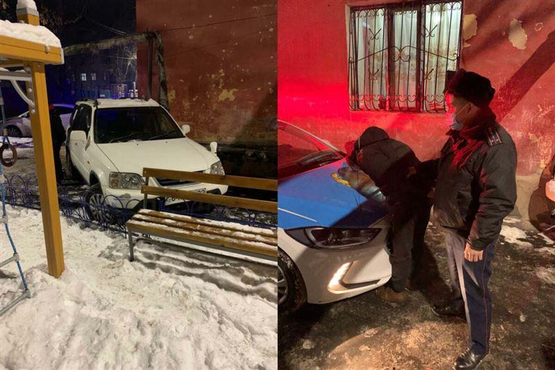 За 15 минут задержали мужчину, угнавшего машину в Алматы