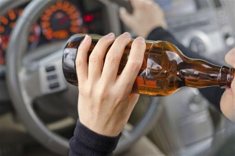 Угнавшая машину пьяная женщина попала в аварию в Талдыкоргане