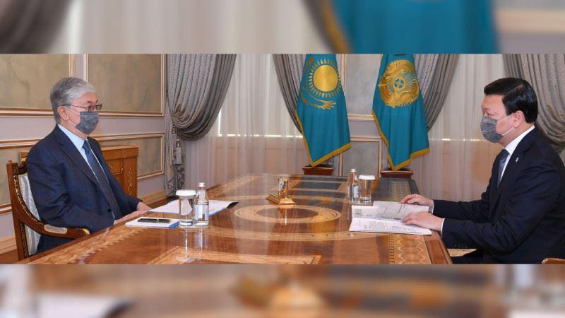 Президент Цойға жағдайды қатаң бақылауда ұстауды тапсырды