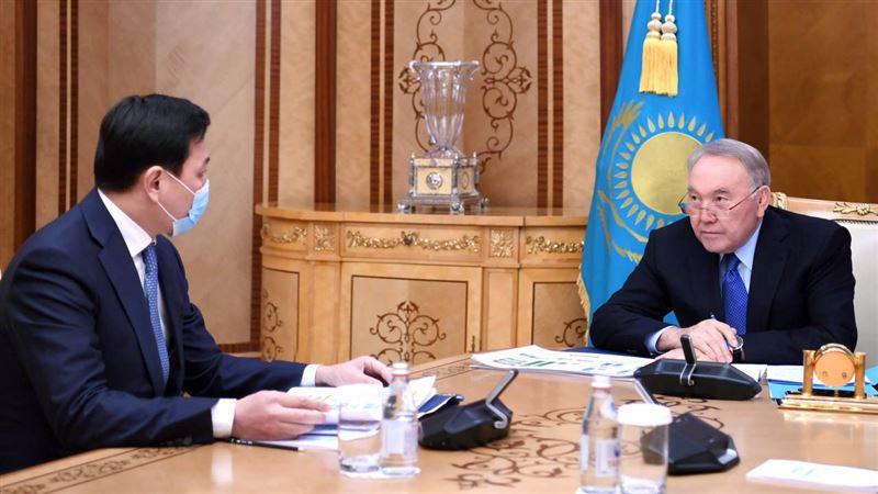 О чем Кульгинов доложил Первому Президенту Казахстана