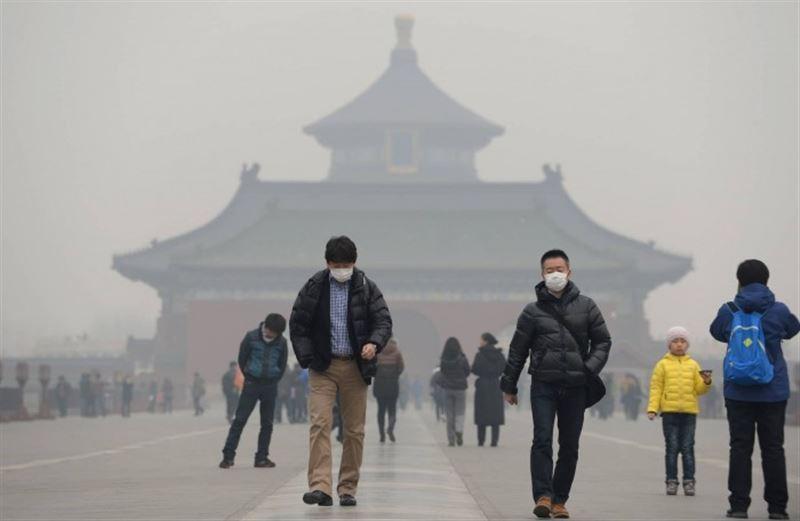 В Пекине отмечается превышение нормы загрязнения воздуха
