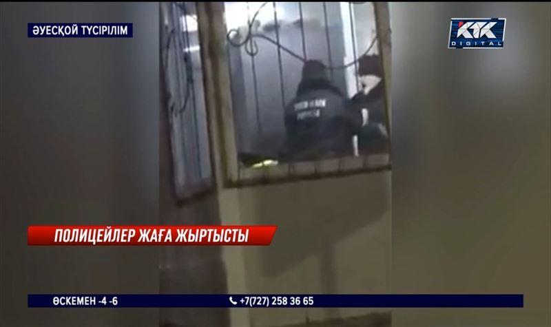 Жұмыс орнында төбелескен полицейлер қызметтен қуылды – Шымкент