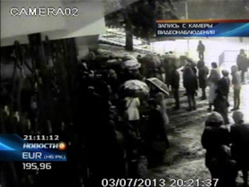 Опоздавшие на «Шымкент шоу» устроили погром во Дворце Республики