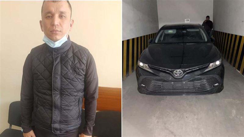 В Алматы задержан мужчина, продавший несколько арендованных машин