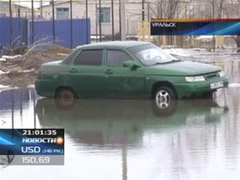 Уральск уходит под воду – начались паводки