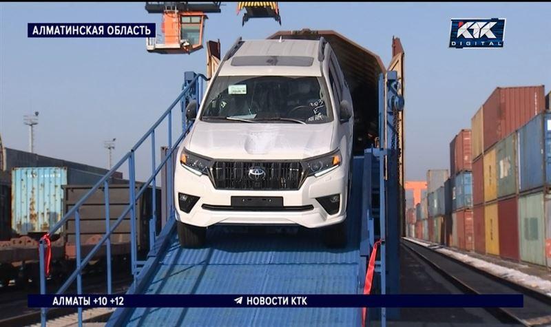 Японские машины в Казахстан будут доставлять быстрее
