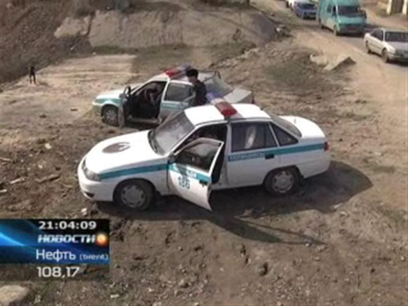 В Алматы жестоко убили полицейского