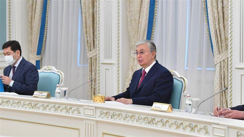 Касым-Жомарт Токаев встретился с министром иностранных дел Узбекистана