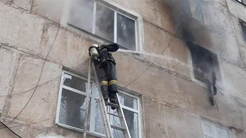 Пожар стал причиной массовой гибели детей в Жамбылской области