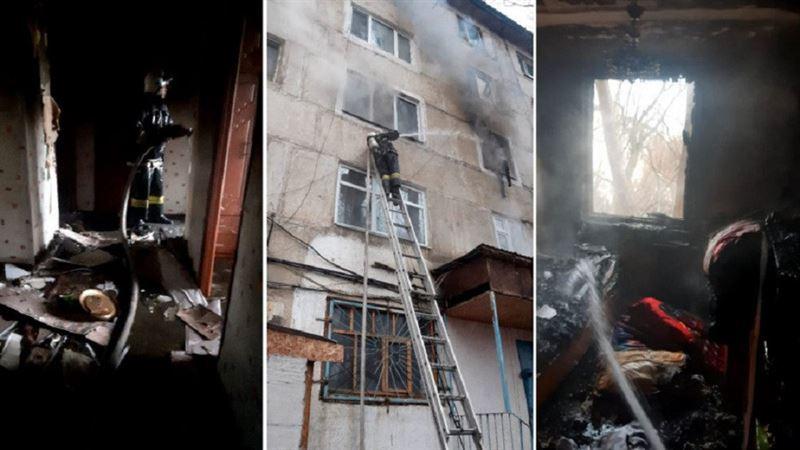 Озвучена предварительная причина пожара в Жанатасе