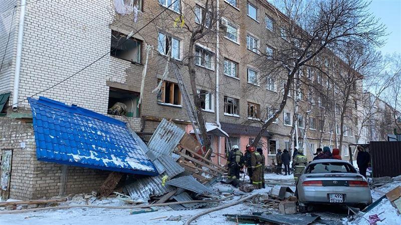 Озвучены подробности по факту взрыва газа в центре Петропавловска