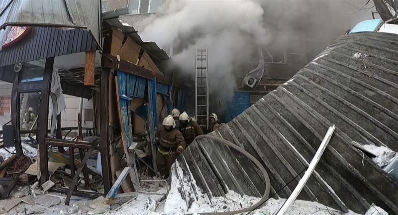 Тело женщины обнаружено под завалами, где взорвался газ