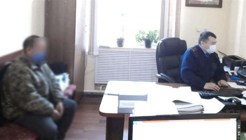 Водителя с мешком марихуаны задержали полицейские Туркестанской области