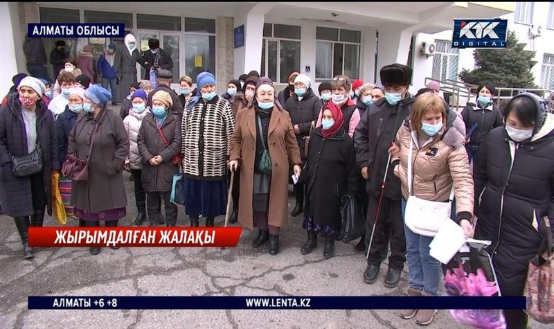 I-топтағы мүгедектерді күтушілер жалақысыз қалған – Алматы облысы