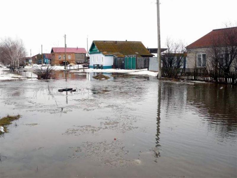 В Казахстане более 900 населенных пунктов находятся в зоне возможных подтоплений во время весенних паводков – МЧС