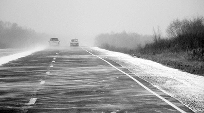 Ограничено движение автотранспорта на участке дороги в Актюбинской области