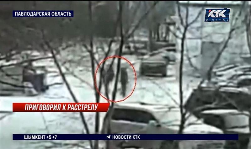 Расстрел мужчины в Экибастузе попал на видео