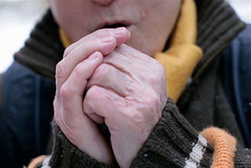 В Атырау 7 человек получили обморожения